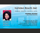 Nations Realty, Inc Commercial - 2.25x3.75 graphic design