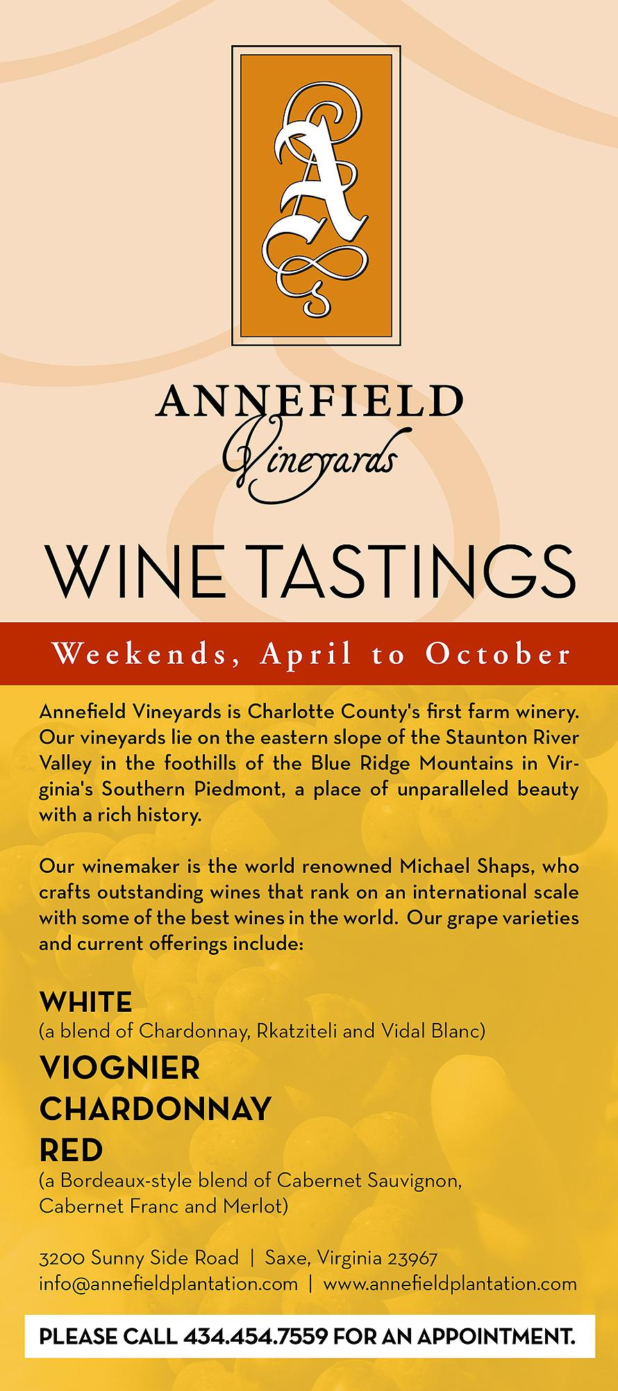 Wine Tastings Weekends