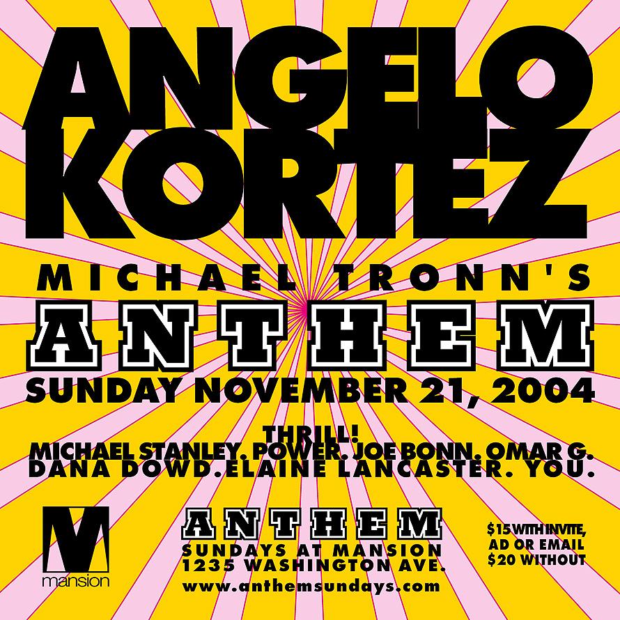 Michael Tronn's Anthem at Mansion Nightclub