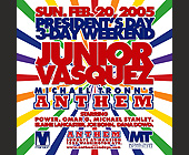 Junior Vasquez at Mansion Nightclub - tagged with 2005