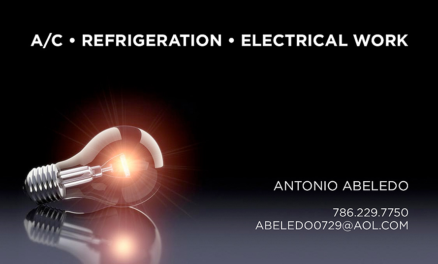 A/C Refrigeration Electrical Work