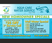 Aqua Care Water Service - Professional Services
