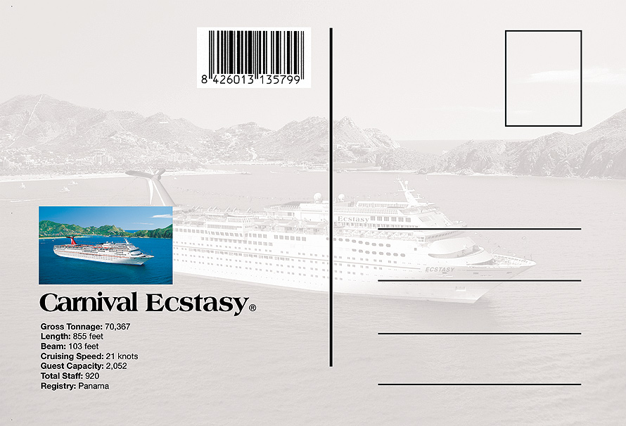 Carnival Ecstacy Cruise Ship