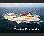 Carnival Fascination Waves Cruise Ship - Travel and Lodging Graphic Designs