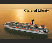 Carnival Liberty Cruise Ship - Travel and Lodging Graphic Designs