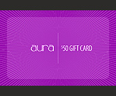 Aura Dusa $50 Gift Card - West Hollywood Graphic Designs