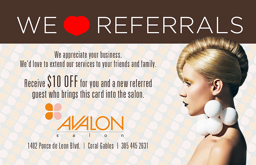 Avalon We Love Referrals