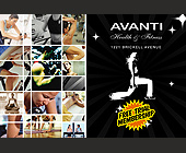 Avanti Full Service Health Club - 1800x1200 graphic design