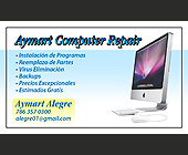 Aymart Computer Repair - 1125x677 graphic design