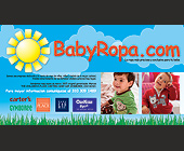 Baby Ropa Infant Clothing Website -  Graphic Designs