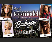 America's Next Top Model Barbizon - Professional Services Graphic Designs