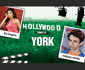 Hollywood Comes to York  - Postcards