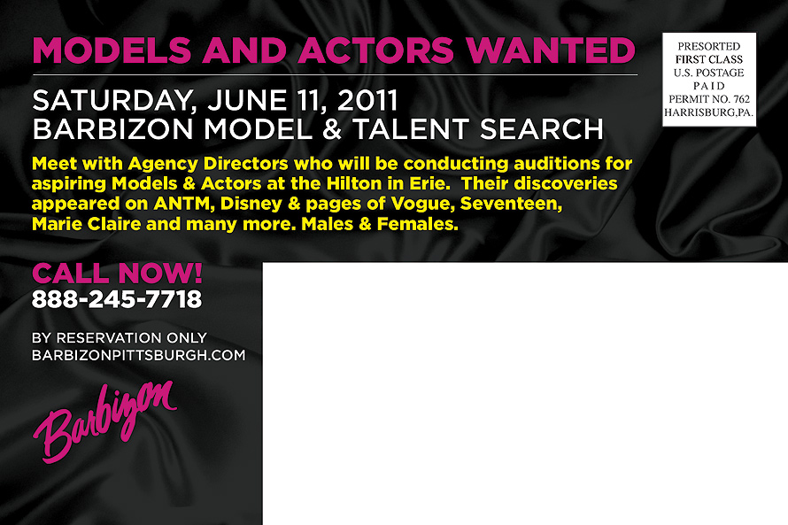 Models and Actors Wanted