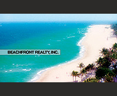 Beachfront Realty, Inc.  - Business Cards Graphic Designs
