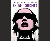 Bed Secret Society - Nightclub Graphic Designs