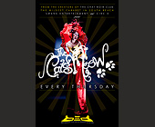 The Cats Meow Dinner Show - Nightclub Graphic Designs