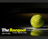 The Racquet Kickoff Event  - 1250x1750 graphic design