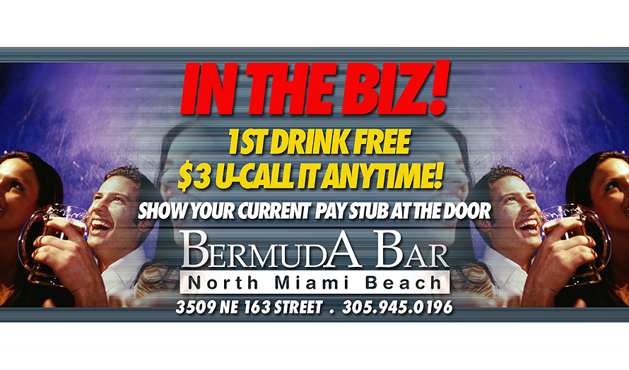 In The Biz First Drink Free