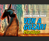 Ven a Gozar Thursdays  - 2.75x4.25 graphic design