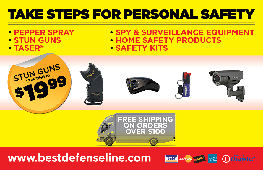 Take Steps for Personal Safety