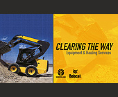 Clearing The Way Equipment and Hauling  - Business Cards Graphic Designs