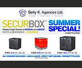 Betty K. Line Summer Special  - Professional Services Graphic Designs