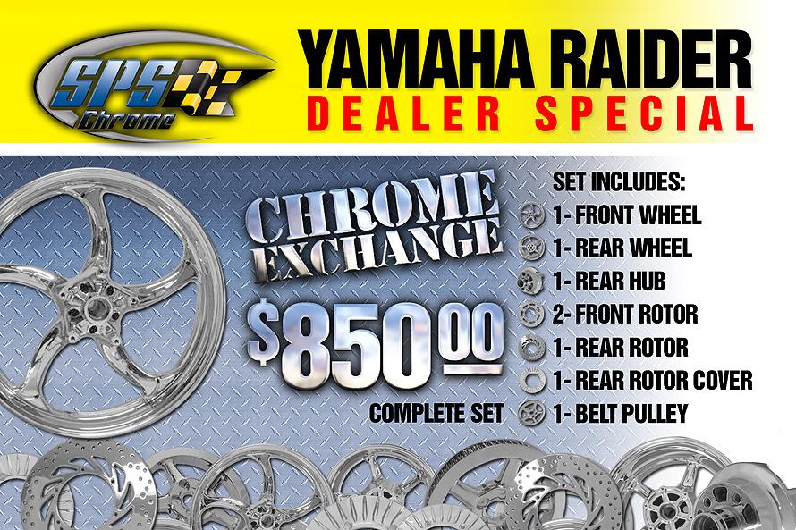 Yamaha Raider Dealer Special