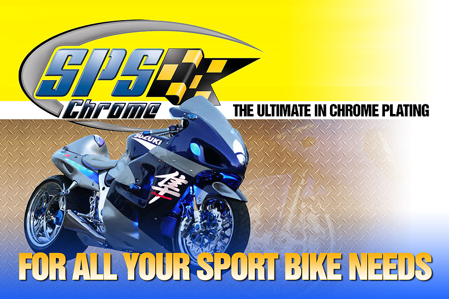 Sport Bike Chrome Plating
