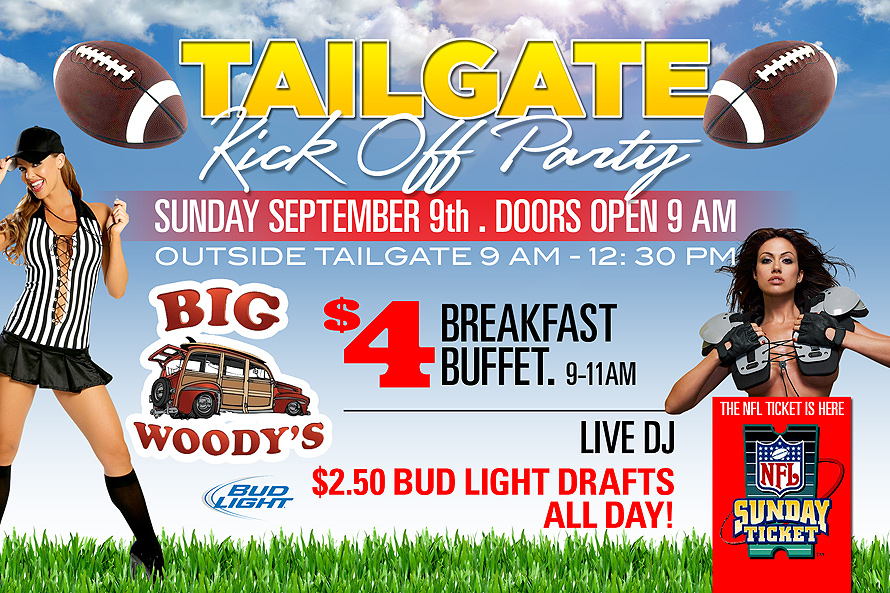 Big Woody's Tailgate Kickoff Party