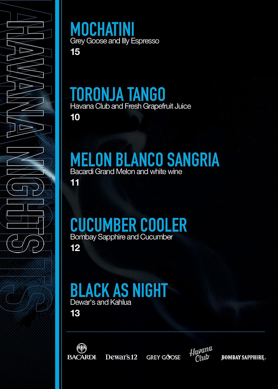 Havana Night Cascade Bar