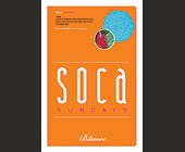 Soca Sundays - Restaurants Graphic Designs