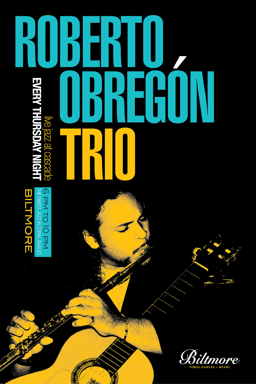 Roberto Obregon Trio Live Jazz