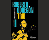 Roberto Obregon Trio Live Jazz - Jazz Graphic Designs