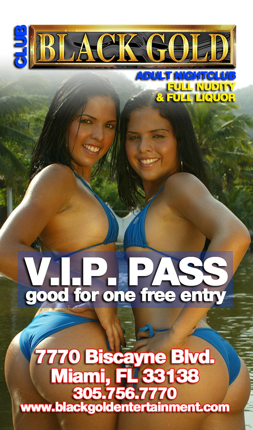 Club Black Gold VIP Pass