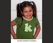 Blaine Elizabeth Casado  - tagged with 5 x 7