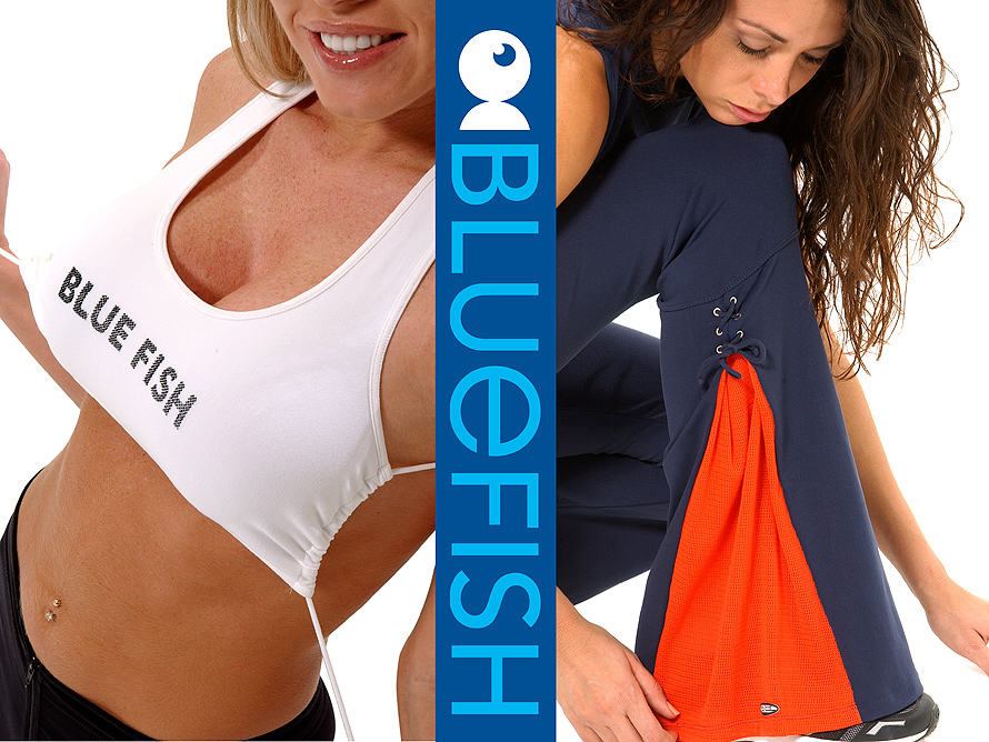 Blue Fish Workout Clothes