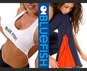 Blue Fish Workout Clothes - Beauty Graphic Designs