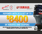 Bob Hewes Boats Repower Giveaway - 1500x1000 graphic design