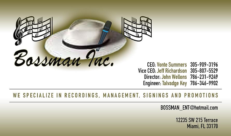 Bassman Inc.