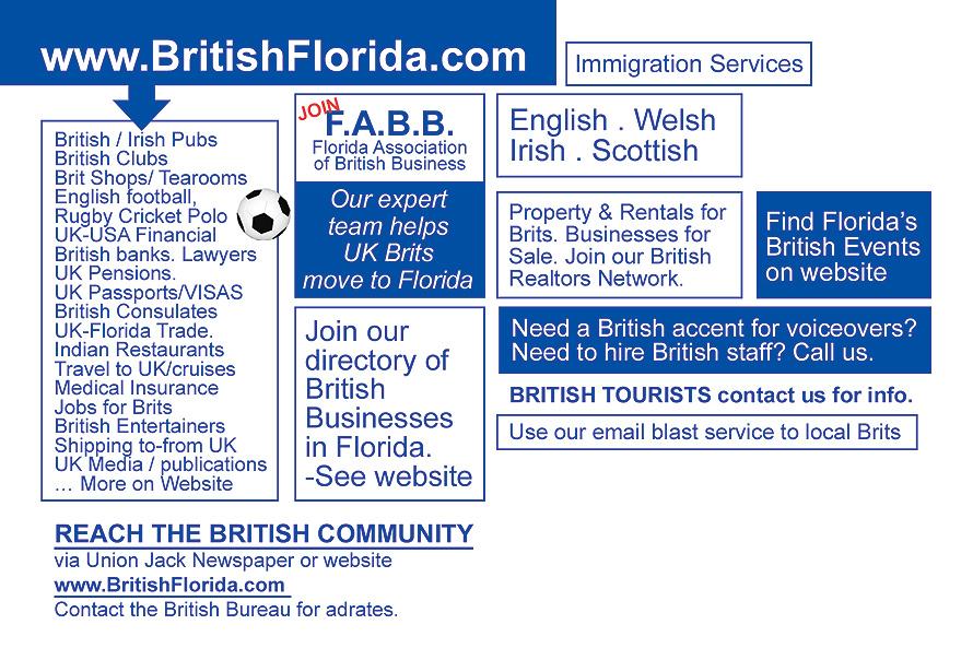 Largest British Database in Florida
