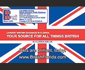 Your Source for All Things British! - Media and Communications Graphic Designs