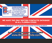 Florida British-American Public Relations - Miami Graphic Designs