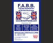 The British Bureau of Florida  - Professional Services Graphic Designs