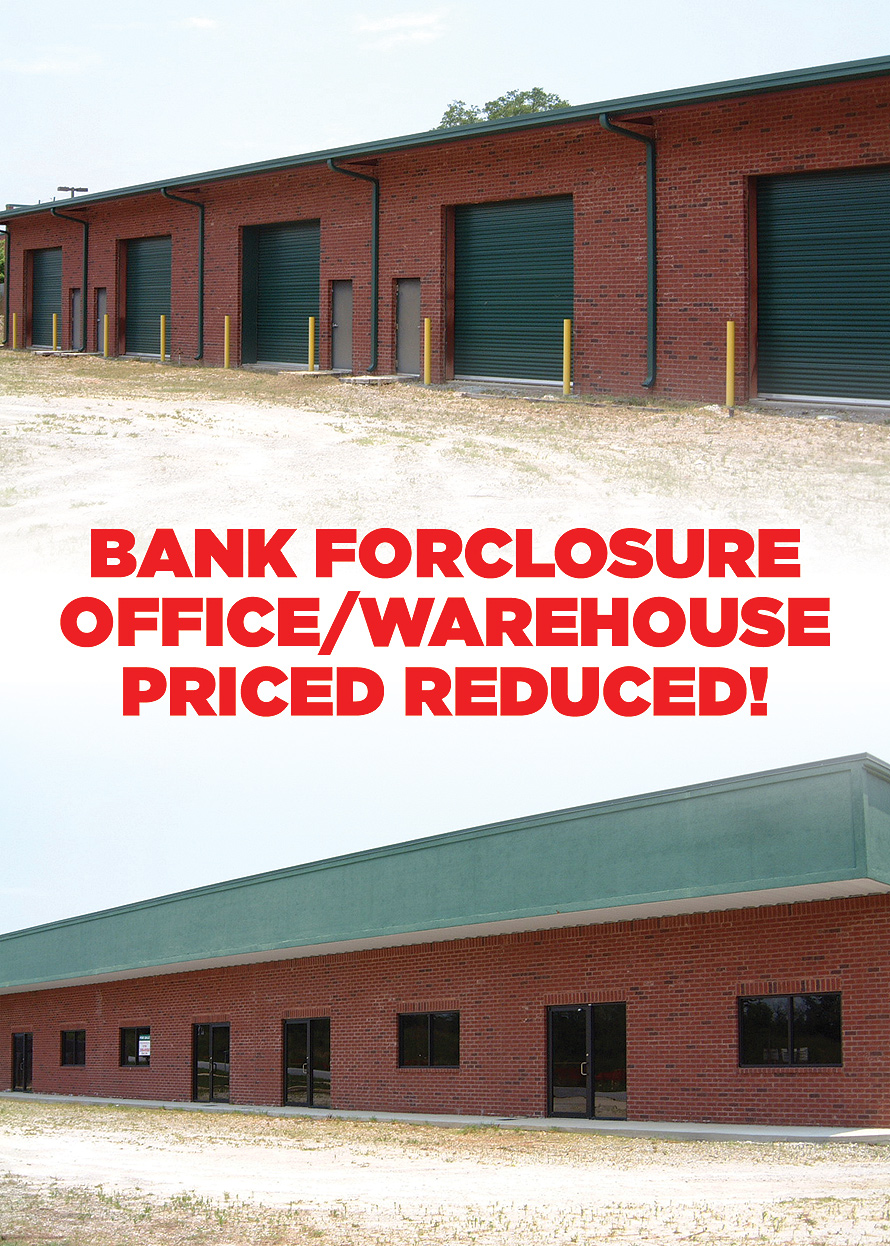 Bank Foreclosure Office and Warehouse
