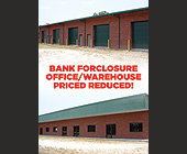 Bank Foreclosure Office and Warehouse - tagged with x