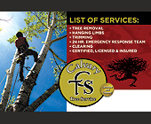 Calvary Tree Service  - tagged with 6 x 4