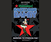 Backdoor Bamby Adventure To Stardom Tour  - tagged with presents