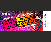 Back Door Bamby Does Def Mix  - Adult Entertainment Graphic Designs
