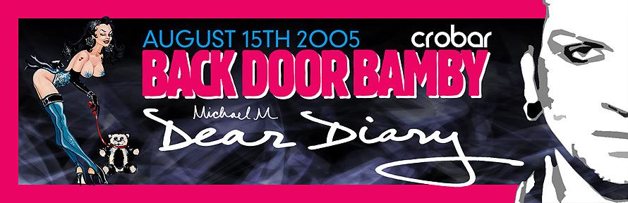 Back Door Bamby Dear Diary