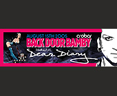 Back Door Bamby Dear Diary  - Adult Entertainment Graphic Designs